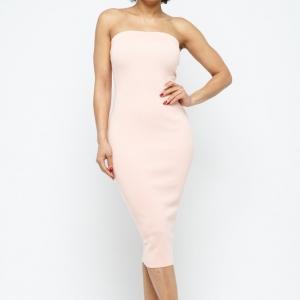Summer Essential Strapless Midi Dress