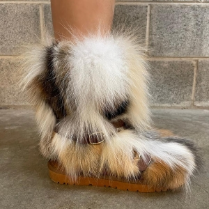 All Mixed Up Fur Boots