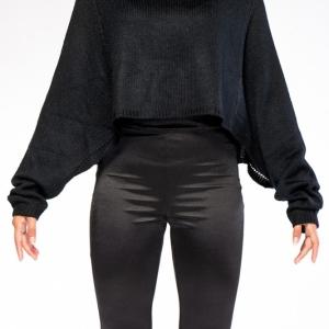 The Basic Black Sweater